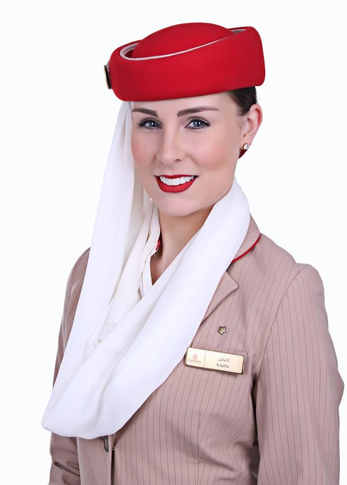 Meet Kaytlin: Emirates Air Hostess