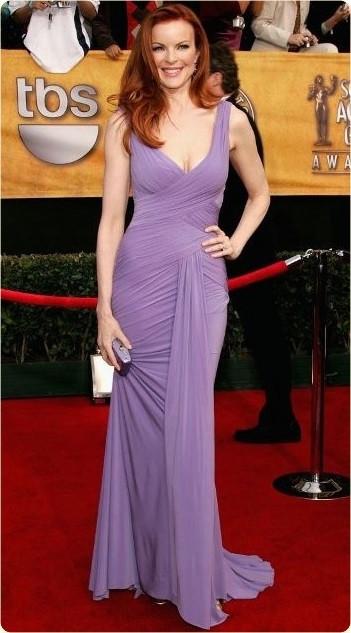 Marcia Cross purple dress.jpg