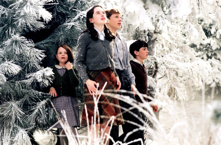 Winter magic via the screen