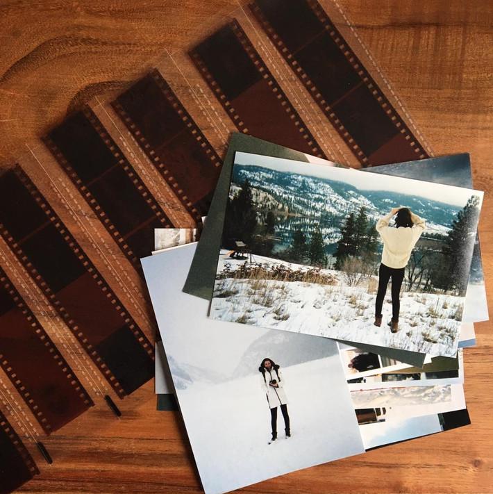 Nostalgic fun: a return to print photography