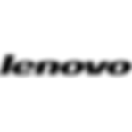 The logo for 'Lenovo'