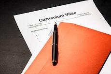 Curriculum vitae cv as concept for job s