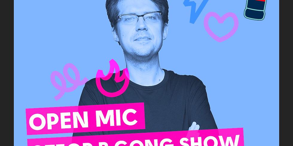 Открытый  микрофон (отбор в Gong Show) (free)