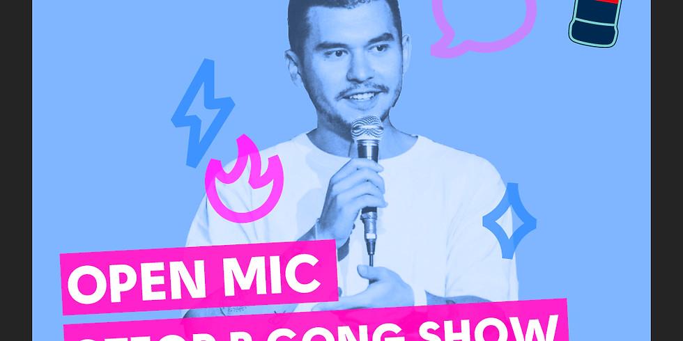 Открытый микрофон  10+ комиков (отбор в Gong Show) (free)