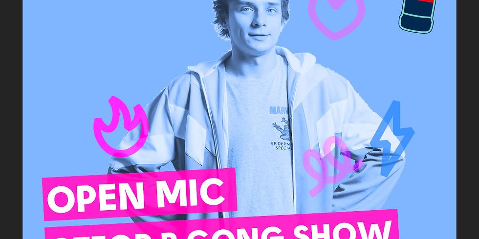Open Mic (отбор в Gong Show) - комики рассказывают свой лучший материал