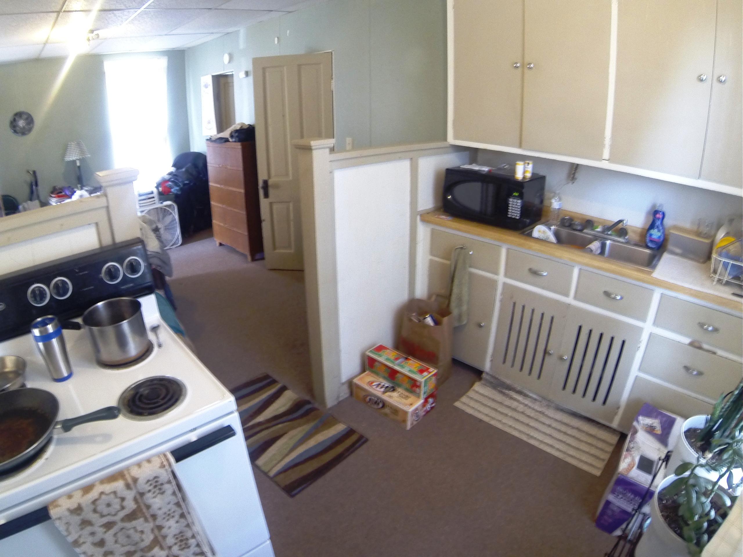 Back-Kitchen Area