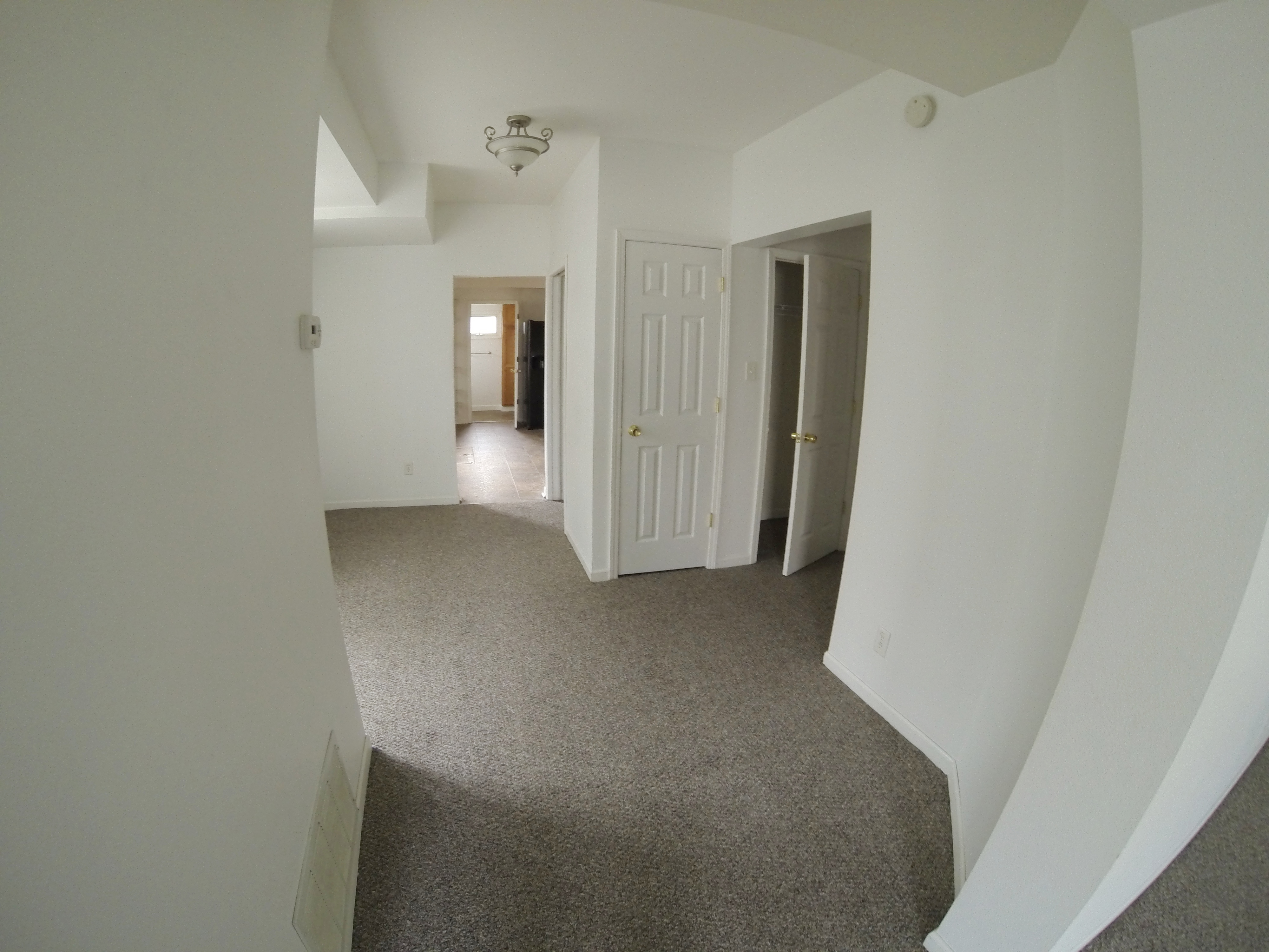 Hallway Between Kitchen and Living Room