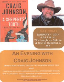 Craig Johnson Event