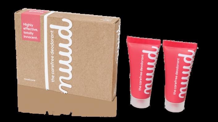Nuud Deodorant Smarter Pack 2x20ml
