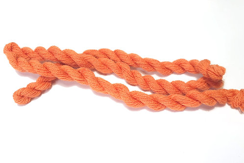 Thin strong wool embroidery thread-orange 47