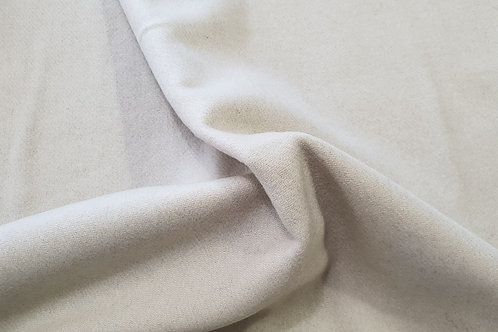 Wool twill-bone white