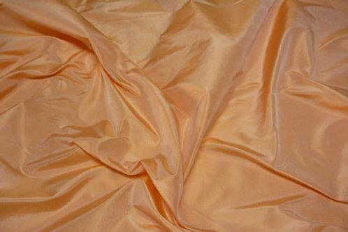 Silk taffeta-peach