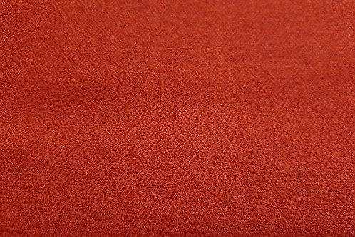 Diamond twill- madder red