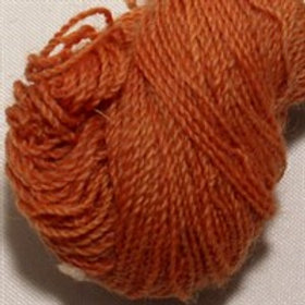 Strong wool embroidery thread-orange