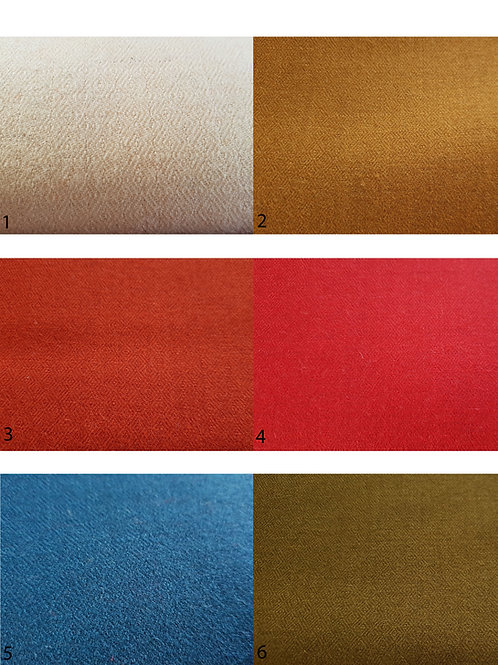 Fabric swatch-Diamond twill, single color