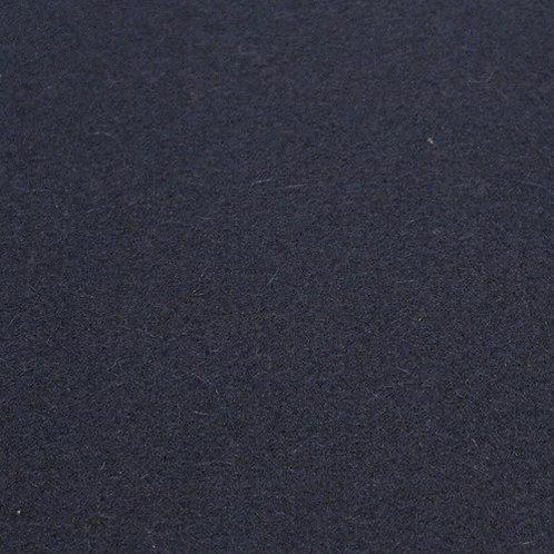 """Wool """"fleece""""-navy blue"""