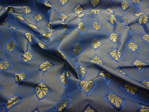 Brocade lily-blue