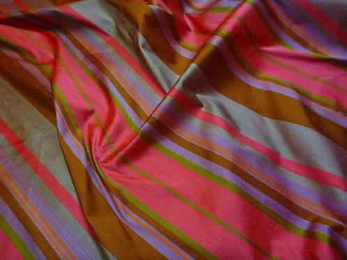 Stripe-pink brown