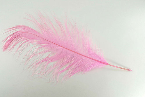 Pink ostrich feather 40-45cm