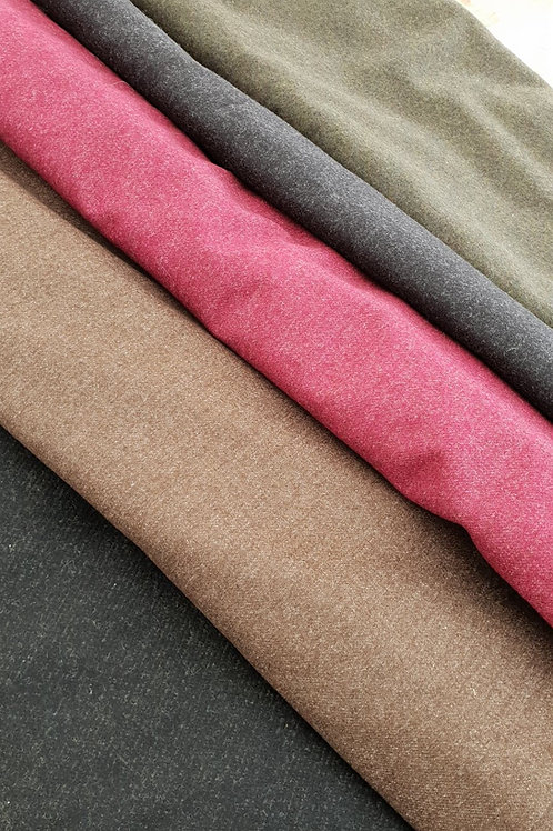 Thin Wool twill-dark gray
