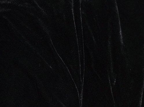 Silk Velvet-black