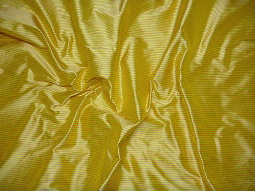 Silk-small stripes-yellow