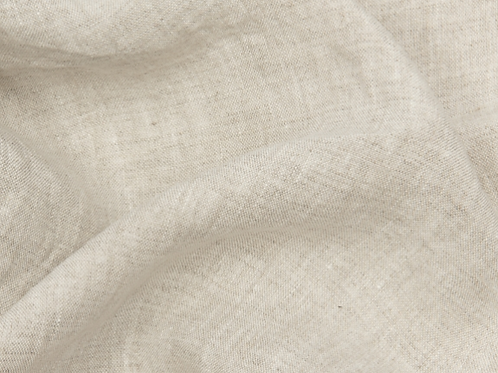 Thin prewashed linen 150g-natural/white
