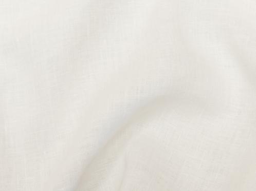 Thin prewashed linen 150g-white