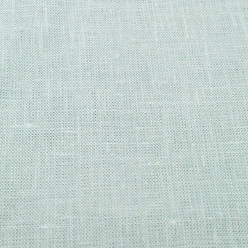 Medium prewashed linen 185g-light mint blue