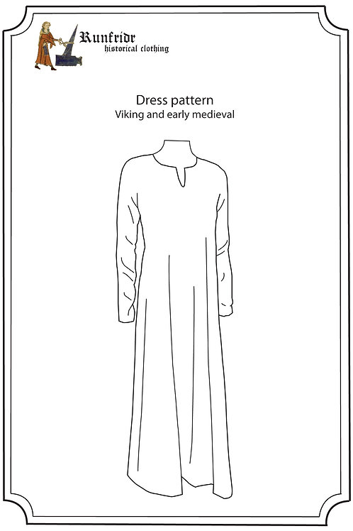 Viking dress serk