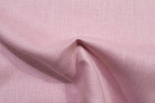 Medium prewashed linen 185g-dusty pink
