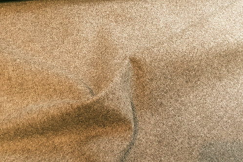 Twill melton-natural brown 09