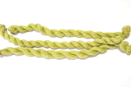 Thin strong wool embroidery thread-light green 22