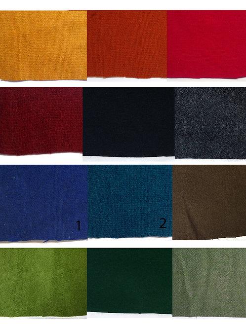 Fabric swatch-Tabby wool/kläde