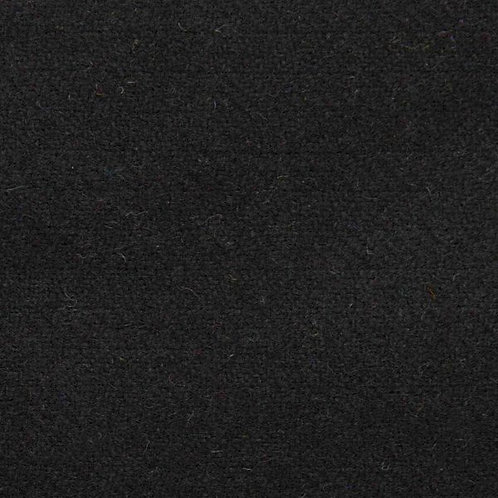 Herringbone wool fabric 100%-black