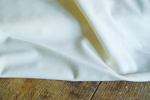 German tabby wool- natural white