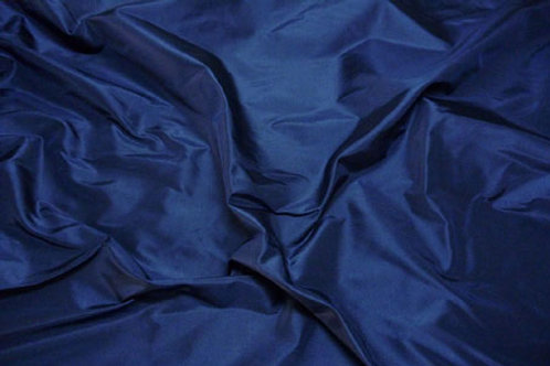 Silk taffeta-dark blue