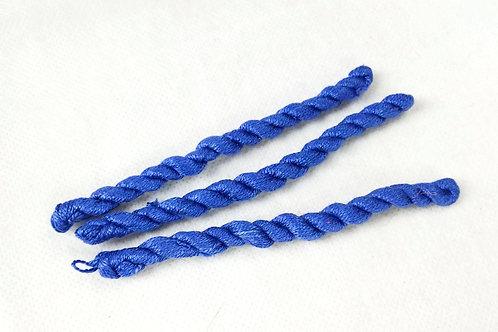 Silk embroidery thread-flag blue 13