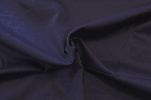 Cotton twill-dark navy blue