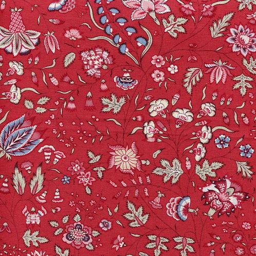 Dutch heritage chintz- red 1025