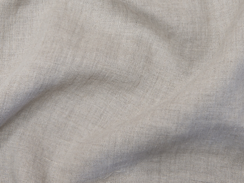 Thin prewashed linen 150g-natural