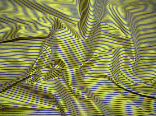 Silk-small stripes green