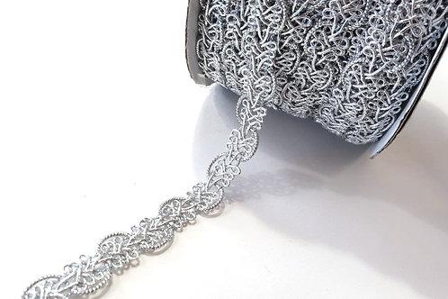 Decoration trim- silver
