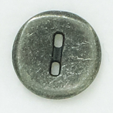 Metal button- gray 18mm