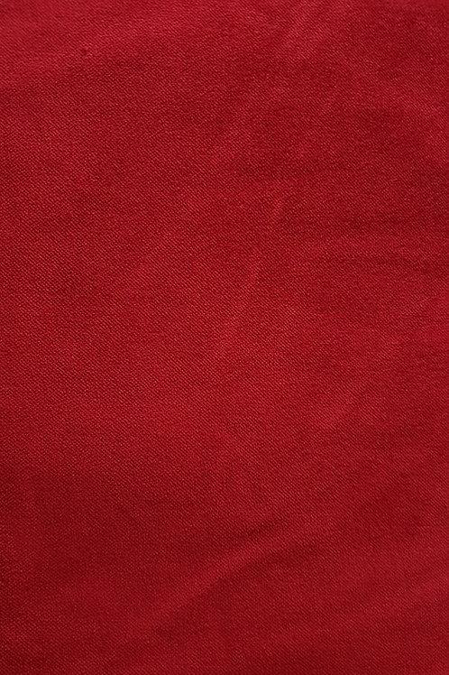 Cotton velvet- Red