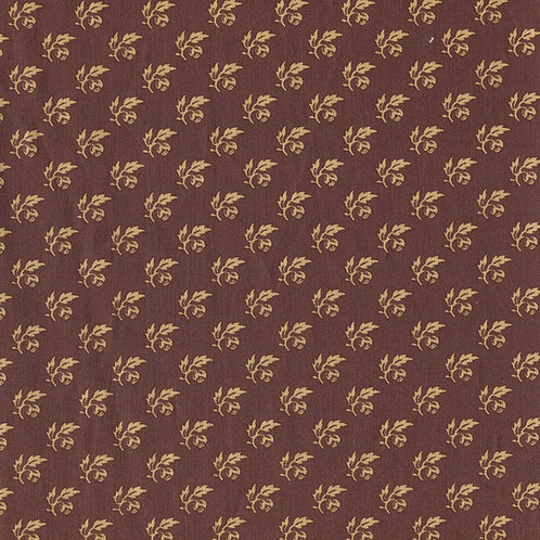 Dutch heritage chintz- brown 4013