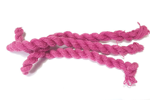 Thin strong wool embroidery thread-dark pink 74