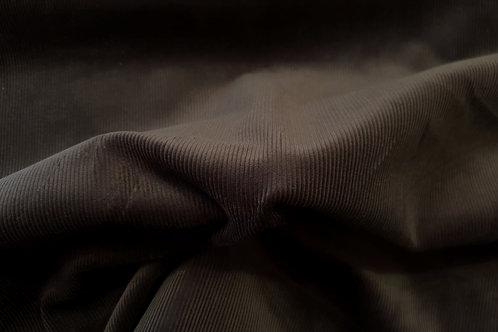 Corduroy small stripe-dark brown