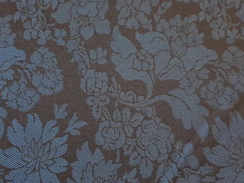 Norwegian wool/silk damast 2 types