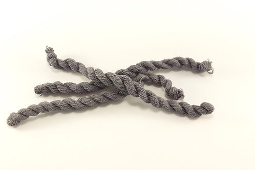 THIN strong wool embroidery thread- gray 03